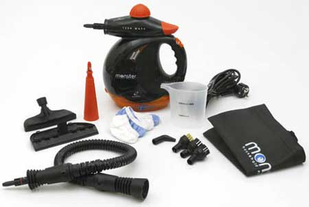 Monster 1200 Steam Cleaner  خرید بخار شوی مانستر استیم کلینر Monster Steam Cleaner